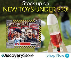 Discovery Channel Toys on Sale!
