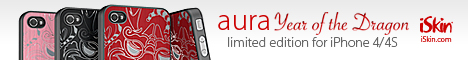 aura Year of the Dragon Edition for iPhone 4/4S