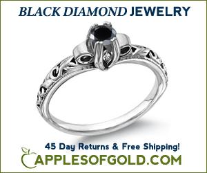 ApplesofGold.com - Black Diamond Rings