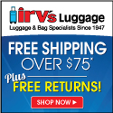 Free Shipping banner from Irvs.com