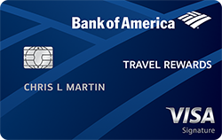 BankAmericard Travel Rewards® Credit Card