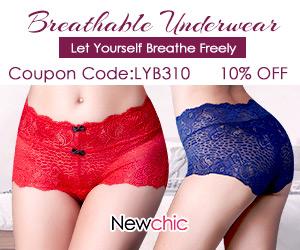 10% Off Women Breathable Underwear