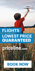 Priceline Airfare - You Choose Flight & Time!