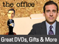 Browse through The Office merchandise in the online NBC Universal Store.
