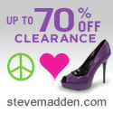 Save 20% at Steve Madden Code MADDEN20