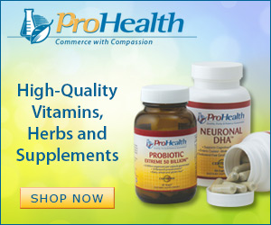 High quality vitamins, herbs, and supplements at ProHealth.com