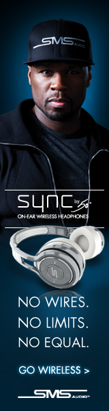 SYNC by 50 On-Ear Wireless Headphones by SMS Audio