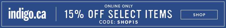 15% off select reg.-prced items with code SHOP15