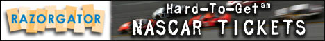 Buy NASCAR Tickets at RazorGator