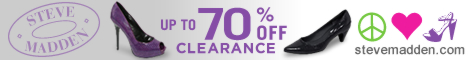 Steve Maddens Clearance sale with up to 70% OFF!