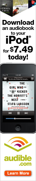 Download an Audiobook to Your iPod for only $7.49
