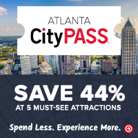 Save up to 43% or more on Atlanta's 5 best attractions at CityPASS.com - Shop Now!