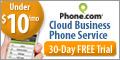 120x60 Cloud Business Phone Service