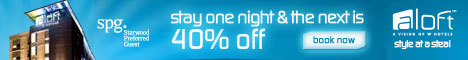 Aloft Better Tomorrow - 50% off next day