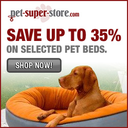 Save up to 35% on Pet Beds