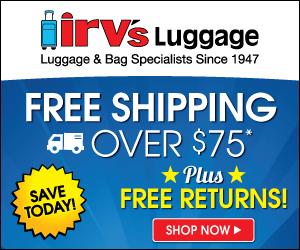 Irv's Luggage Coupon Image 1