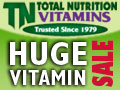 TNVitamins - Huge Vitamin & Supplement Sale