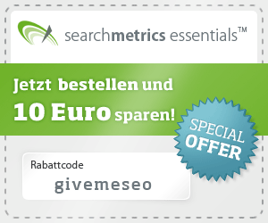 Searchmetrics Essentials - SEO Analyse Tool