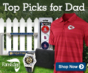 Shop for great gifts for sports fan dads at FansEdge.com