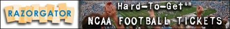 Buy NCAA Football Tickets at RazorGator