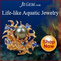 Life-Like Aquatic Jewelry at JeGem.com