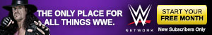WWE Network Undertaker 300x50