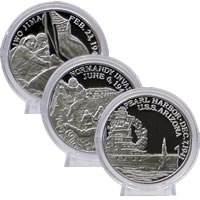 WWII Commemorative Coin Set