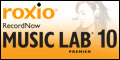 New! RecordNow 10 Music Lab Premier
