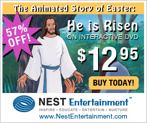 He is Risen on Interactive DVD from NestEntertainment.com