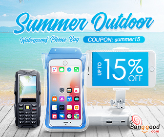 15% OFF Coupon for Waterproof Phone Bags & Acc