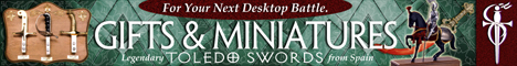 Gifts & Minatures - For Your Next Desktop Battle