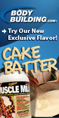 Cake Batter Muscle Milk, Exclusive Flavor