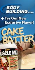 Cake Batter Muscle Milk, Exclusive Flavor