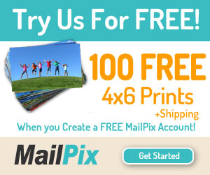 MailPix 100 Free Photo Prints
