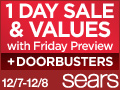 One Day Sale at Sears