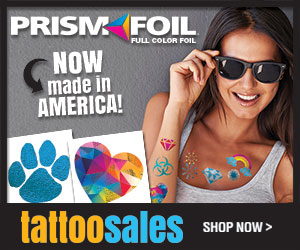 PrismFoil temporary tattoos!