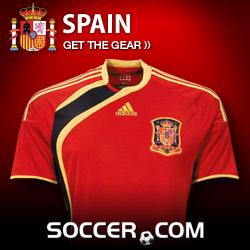 Spain Team Gear at Soccer.com