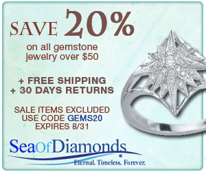 Gemstone Collection - 20% Off $50+ Coupon: GEMS20