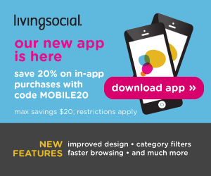 20% Off Living Social Deal! (Mobile ONLY)