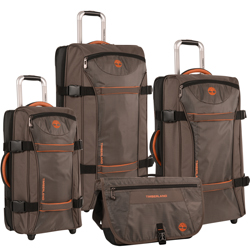 -Timberland Twin Mountain 4 Piece Wheeled Luggage Set Now Only $259.97 Org. $1,240.00 Plus Free Shipping. Use Promo Code TBTM-