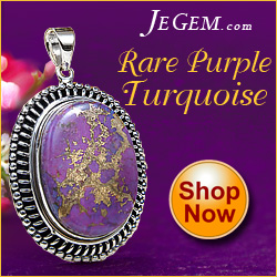 Rare Purple Turquoise at JeGem.com