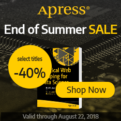 End of the Summer Sale - 40% OFF Select Titles