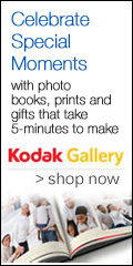 Save up to 30% on Photo Books at Kodak Gallery!
