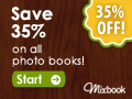 Receive a FREE photob book with Mixbook.com