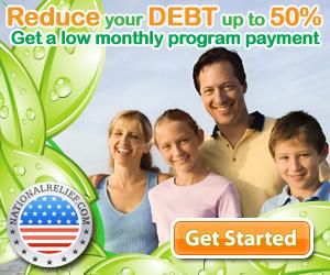 Debt Relief today!