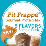 Fit Frappé Coffee Protein Drink Mix Sample Pack