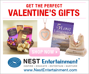 Valentines Day Gifts from NestEntertainment.com