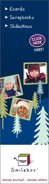 Smilebox ecards, slideshows and scrapbooks