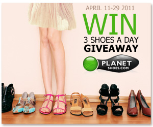 3 Shoes A Day Giveaways