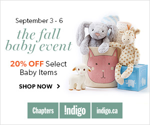Fall Baby Event: 20% Off select Baby Items